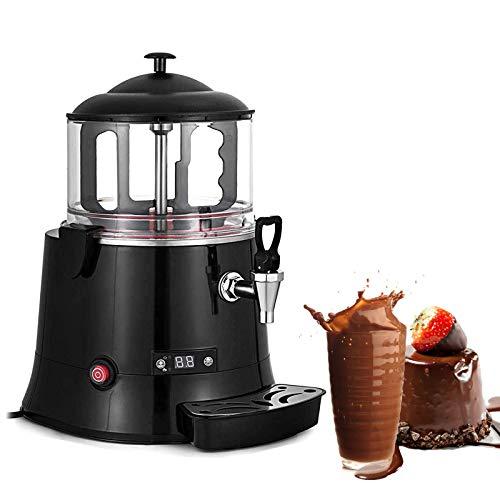 YJINGRUI Macchina per erogazione di cioccolata calda commerciale Distributore di bevande al cioccolato elettrico Macchina per riscaldare il cioccolato al latte 220V (capacity: 5L)