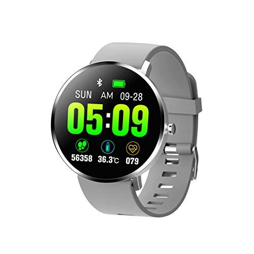 Smart Watch F25T Smartwatch Deportes Pulsera Soporta Ritmo Cardíaco Presión Arterial Presión Arterial Horas De Reloj A Prueba De Agua para Android iOS,B