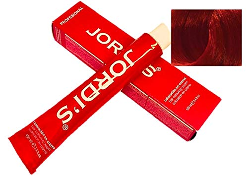 Tintes Profesionales color intenso y brillante - 8.55- RUBIO CLARO CAOBA ROJO - Coloración en crema 100ml.