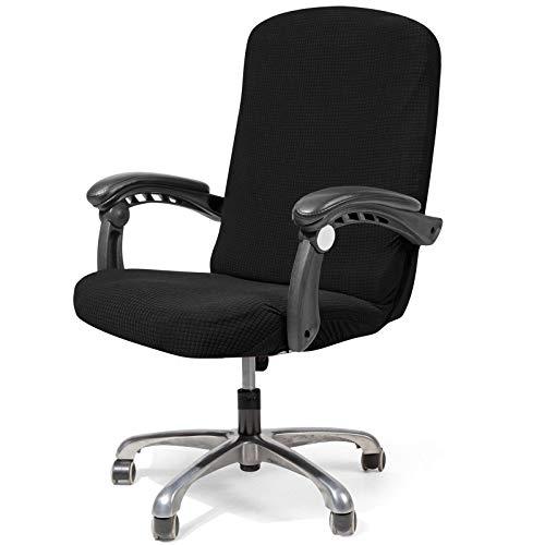 Getmorebeauty - Funda para Silla de Oficina Impermeable, Fundas para sillas de Oficina para Ordenador, Fundas Impermeables para sillas universales, Funda de sofá Moderna, Estilo Sencillo