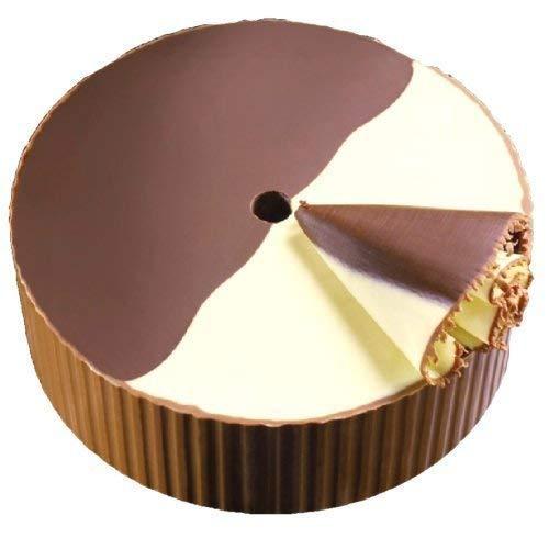 Swiss Navy.Roul. B + W/Half e Choco roulette 500g/chiaro/scuro cioccolato svizzero per l' affettatrice del formaggio. Contiene allergeni tipo latte e prodotti (incluso lattosio) latte intero in polvere, burro, latte, zucchero, fagioli di soia e prod...