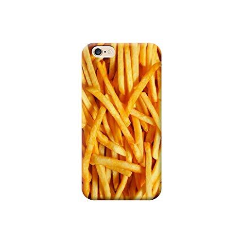 TheBigStock Cover Custodia per Tutti Modelli Apple iPhone x 8 7 6 6s 5 5s Plus 4 4s 5c TPU - AE24 Patatine Fritte, iPhone 6 Plus
