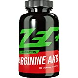 ZEC+ ARGININ AKG 180 Kapseln | Pump Supplement | Aminosäure...