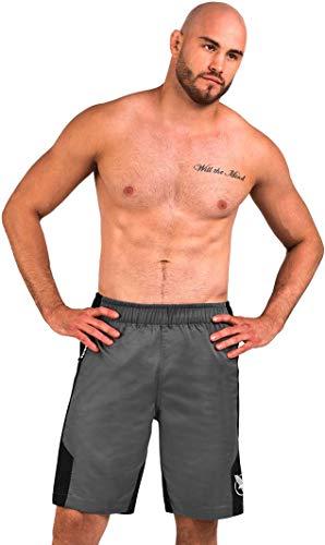 Hayabusa Lightweight Jiu Jitsu Shorts - Grey, XX-Large