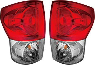 Epic Lighting OE Style Replacement Rear Brake Tail Lights Assemblies Compatible with 2007-2009 Tundra Left Driver & Right Passenger Sides Pair