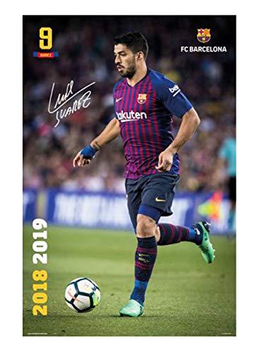 FC Barcelona Poster 2018/2019 Luis Suarez Action