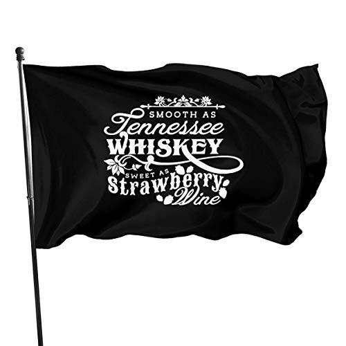 chenguang4422 Friend Tennessee Whiskey Strawberry Wine Outdoor Flag 4x6 feet Decoratieve vlag voor backyard, thuis en feestjes
