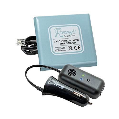 Remmy 8300195130011 Dispositivo Anti Abbandono per Seggiolino Auto Bambini 0-4 Anni Sistema con Allarme Presa Accendisigari Auto Standard (No Start And Stop)