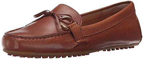 Lauren by Ralph Lauren Damen Briley Driving-Stil, Loafer, Sattel Deep Tan, 39 EU