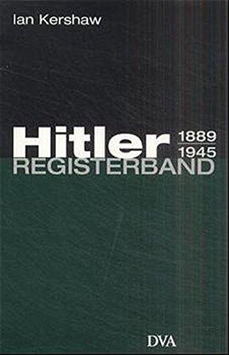 Hitler 1889-1945: Registerband