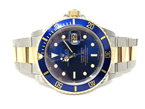 Rolex Oyster Perpetual Submariner Date 40MM Two Tone 16613 - Pre-Owned