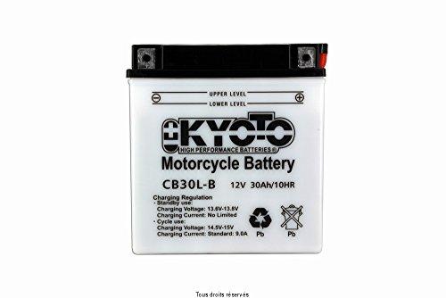 Kyoto - Batería Moto YB30L-B / CB30L-B 12V 30Ah