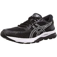 Asics Gel-Nimbus 21, Zapatillas de Running para Mujer, Negro (Black/Dark Grey 001), 36 EU