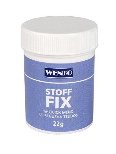 Wenko 4880022100 Stoff-Fix Pulver - Kunststoff, 22 g, ø 4 x 5.5 cm