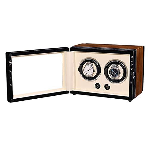 Enrollador de Reloj Enrollador de Reloj, Caja de Motor eléctrico Ultra silenciosa...