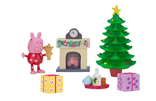 Peppa Pig Little Rooms Holiday Deco Playset
