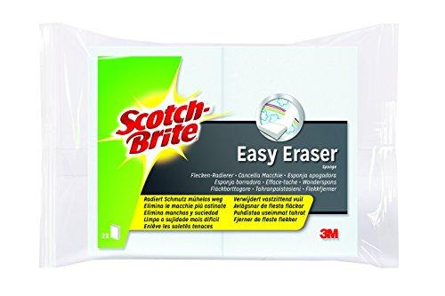 Scotch-Brite EE2 Flecken-Radierer Easy Eraser, weiß, 2er Pack