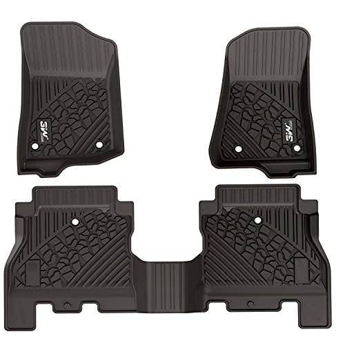 3W Floor Mats Compatible for Jeep Wrangler JL...