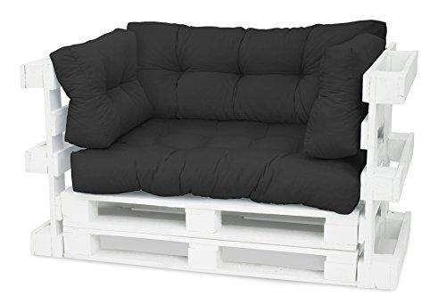 Cojín para palé de Spatium 120x 80para acolchado de muebles con palés europeos