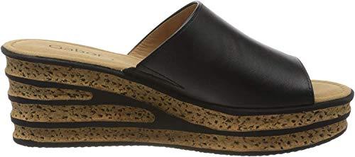 Gabor Shoes Damen Casual Pantoletten, Schwarz (Schwarz 27), 38 EU