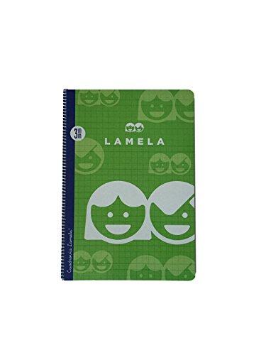 Cuaderno Espiral Folio 3mm Cuadrovía Lamela