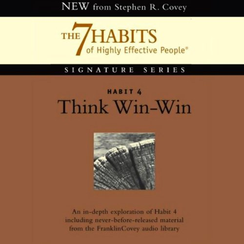 Page de couverture de Think Win-Win