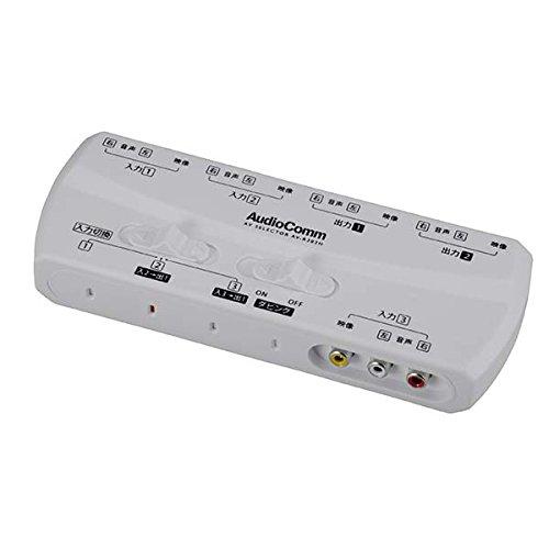 OHM Audio Comm AVセレクター AV-R302H