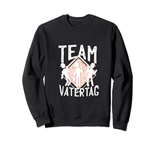 Team Vatertag I Männer Sauf Mannschaft Partnerlook Sweatshirt
