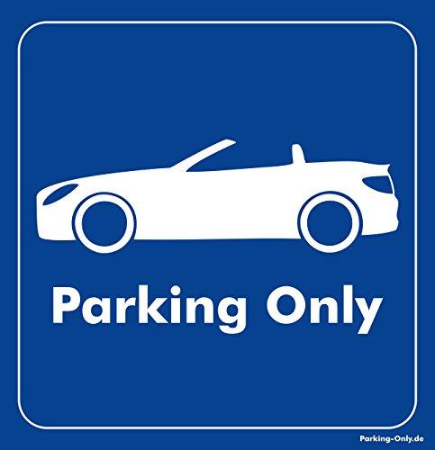 Parking-Only - Mercedes-Benz SLK - Parkplatz Aufkleber