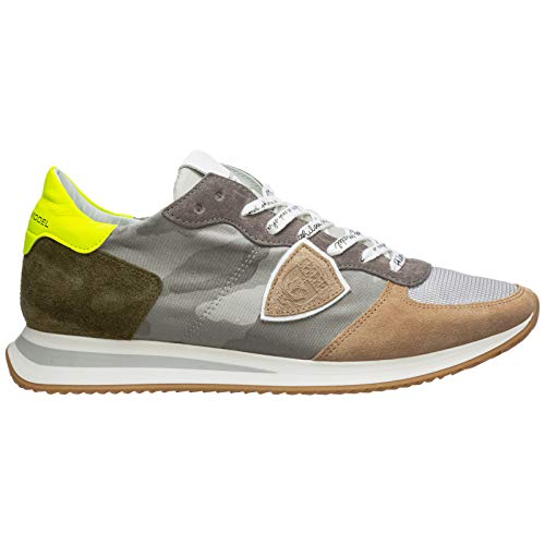 Philippe Model Herren trpx Sneakers gris 44 EU
