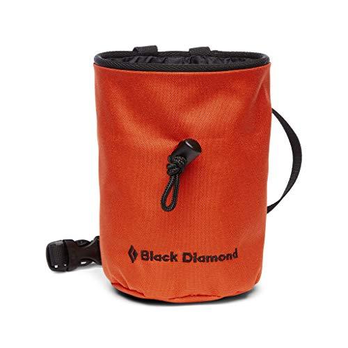 Black Diamond Mojo Chalk Bag Bolsas de magnesio para Escalada, Unisex-Adult, Octane, Medium/Large