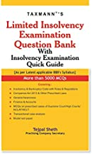 Limited Insolvency Examination Question Bank With Insolvency Examination Quick Guide (2019 Edition)