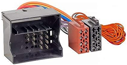 /45/Radio Cable de conexi/ón para ISO Audi//Seat//Skoda//VW Fantasma Acv 1324/