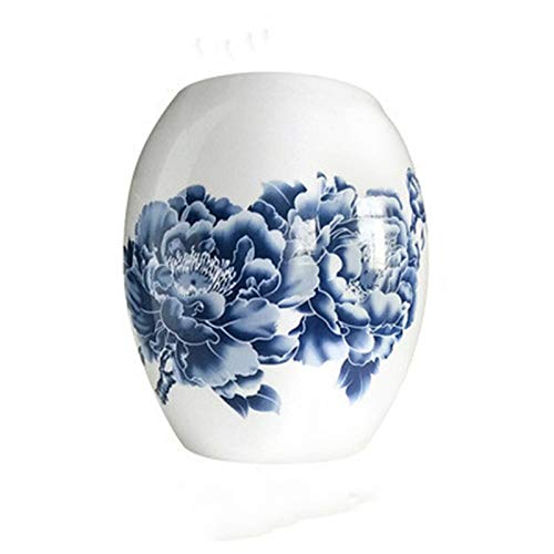 ChengBeautiful Pantalla De Lámpara Lámpara de Mesa de Bolas Redondas Lámpara de pie de Flores Ovalada Cubierta de cerámica Protectora de Cristal. (Color : Colour 3, Size : One Size)