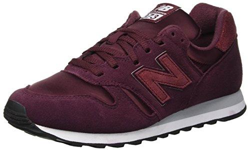 New Balance 373, Sneaker a Collo Basso Donna, Rosso (Nb Burgundy/Silver Mink BSP), 41 EU