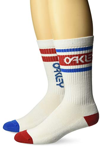 Oakley Herren Socken B1b - Weiß - Large
