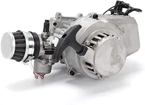 Facaing 47CC 49CC 2 Stroke Pull Start Engine Motor Pocket Mini Pit Bike Motor Bicycle