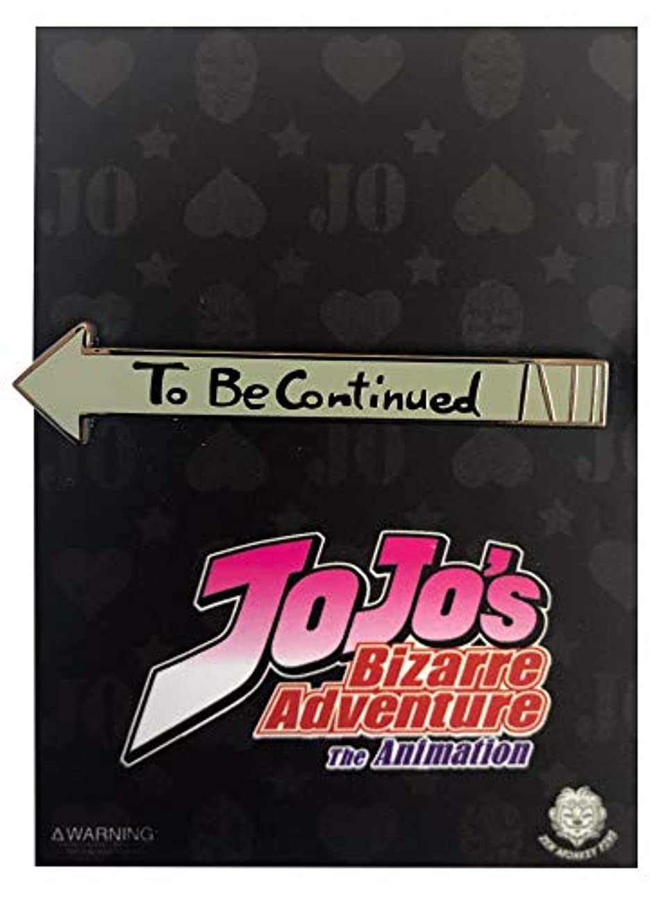 To Be Continued: Jojo's Bizarre Adventure Collectible Pin