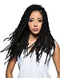 (6-PACK) Bobbi Boss Synthetic Hair Crochet Braids African Roots Braid Collection Nu Locs 24' (2)