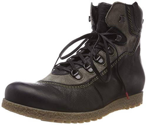 Think! Herren GROD_383624 Desert Boots, Schwarz (09 Sz/Kombi), 42 EU
