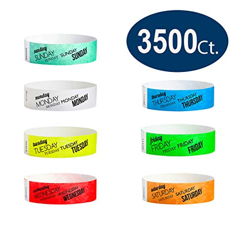 paper wristbands variety pack - 8