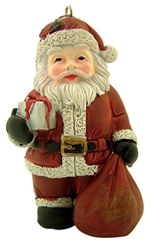 Unbekannt Kunstharz Hänger Weihnachten Baum Ornament, 31/5,1cm Santa Claus