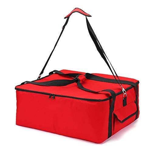 Bolso de Almuerzo 53 * 48 * 23 cm Aislamiento térmico 16 Pulgadas Pizza Bolsa de Entrega Oxford Paño Picnic Bag Casa.
