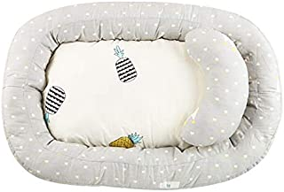 BELUPAI Baby Bassinet for Bed,Newborn Infant Bassinet Baby Nest Snuggle Bed Crib Mattress Baby Sleeping Nest Pillow Bed Ba...