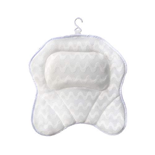 Fealay Baby Bath Tub Pad Infant Tub Cushion Seat Anti-Slip Bathtub Pad,Baby Shower Floating Bather Bed Newborn Bathtub Pad