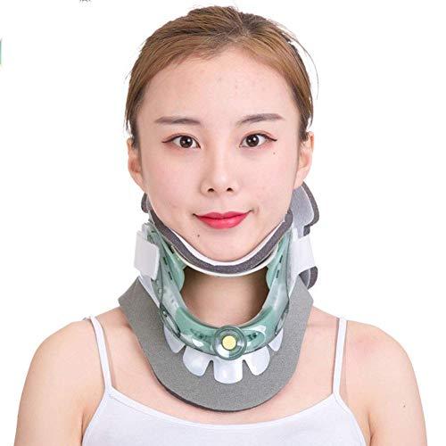 XHDMJ Hals Traktionsgerät Hals Bahre Korrektur Sie Den Hals Zu Nackenschmerzen Lindern Reparatur Physiotherapie Dorn Massagegerät