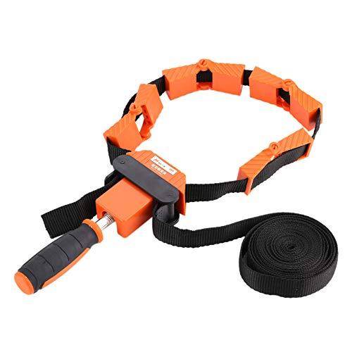 Bandklemme, 4,0 m, Bandklemme, 4 m, Speed-Rahmen, Bildbearbeitung, Gurt, Ratsche, Eck-Gehrungswerkzeug, schnell verstellbar, für Rahmen, Schubladen, Einhand-Gürtel, 4 flexible Backen