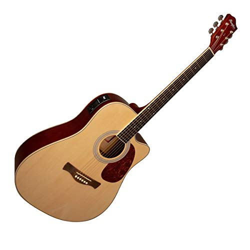 Violão Elétrico Memphis Tagima Folk MD 18 NS Aço Natural Satin