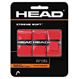 Head Xtremesoft Pack de Overgrip, Unisex Adulto, Red, S