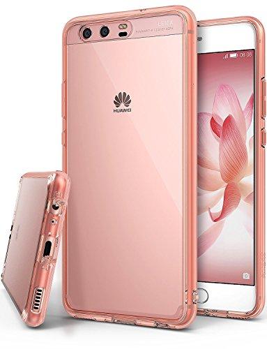 Ringke Fusion Custodia Compatibile con Huawei P10, [Fusion] Puro Sottile Trasparente PC Assorbimento...